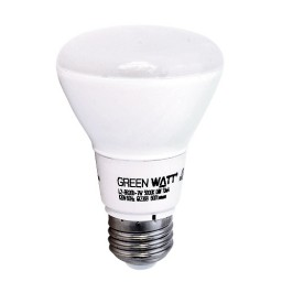 Track lighting Green Watt G-L2-BR20D-7W-3000K LED 7watt BR20 3000K flood light bulb dimmable