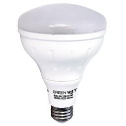 Track lighting Green Watt LED 8watt BR30 2700K flood light bulb dimmable LED-8W-BR30/827-DIM