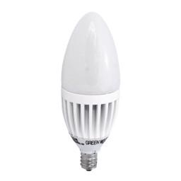 Track lighting Green Watt LED 5watt candelabra 2700K light bulb dimmable G-L2-CandleD-5W