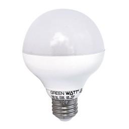 Green Watt G25D-7W-41SO LED 7watt globe light bulb 4100K dimmable
