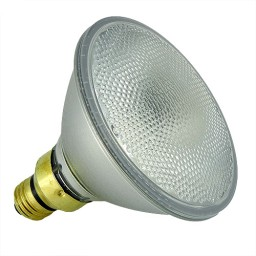 Track lighting economy 70 watt Par 38 flood 120volt halogen lamp Energy saver single