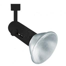black tlsk206 abk basic round back led track light