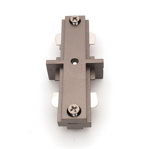 Track Lighting Satin Straight Connector Mini Joiner 3