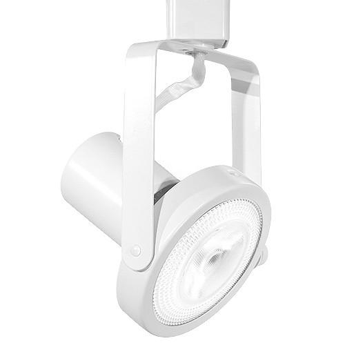 Led gimbal white track light with par30 led bulb aloadofball Image collections