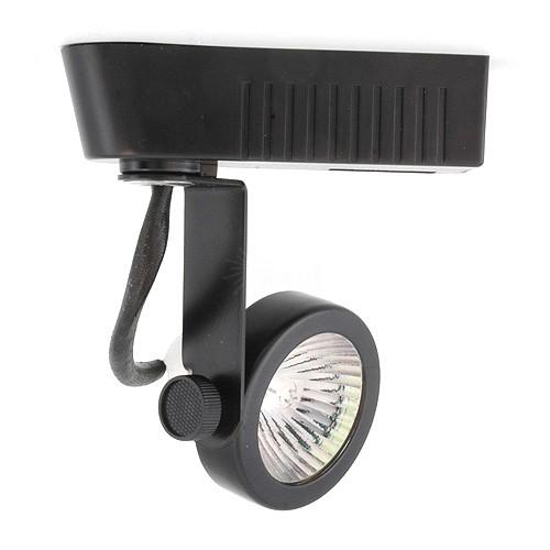 Black Gimbal Ring Mr16 Low Voltage 120 12v Led Track Light Fixture Head