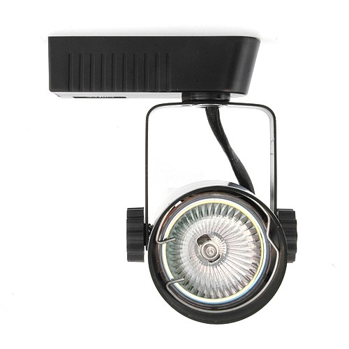 Black theatrical style led low voltage track light fixture aloadofball Images