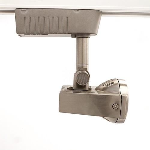 Satin Razor Back Mini Deco Mr16 Low Voltage Track Light