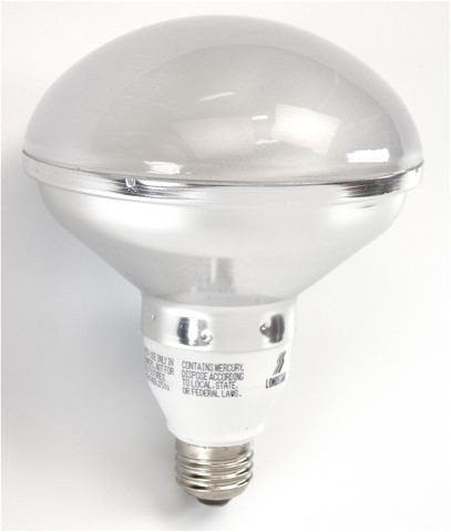 Top r40 lamp compact fluorescent cfl 30watt 27k track lighting aloadofball Gallery