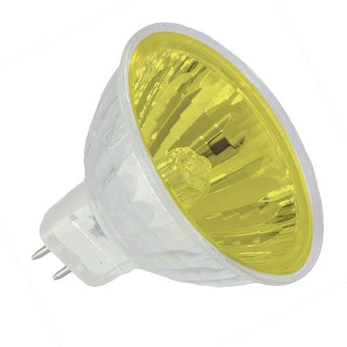 Track lighting yellow lens colored exn mr16 50 watt 12 volt flood track lighting yellow lens colored exn mr16 50 watt 12 volt flood halogen light bulb aloadofball Gallery
