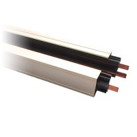 4ft. Satin power track H-style 3-wire