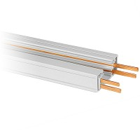 12ft. Dual Circuit Power Track Architectural White H-style