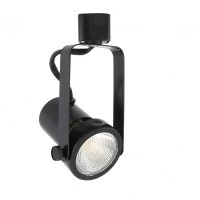PAR20 BLACK gimbal ring track light fixture head