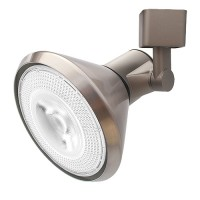 PAR30 satin classic cone cylinder track light fixture H-style 3-wire