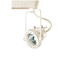 Black or white modern style high tech wire frame MR16 low voltage track fixture