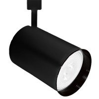 PAR30 BLACK flat back cylinder track light fixture