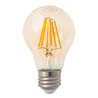 Track lighting LED vintage filament 7watt A19 Omni light bulb 2200K soft warm dimmable G-A19D7W22