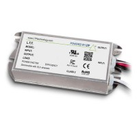 LTF LED 60watt no load electronic DC driver transformer 24VDC ELV dimmable TA60WD24LED010