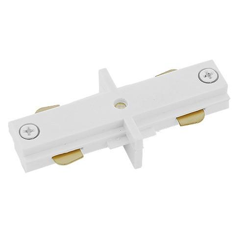 Track Lighting Architectural White Straight Connector Mini