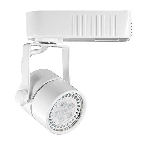 Low voltage track lighting fixtures white mini round mr16 low voltage 12012v led track light fixture head aloadofball Images