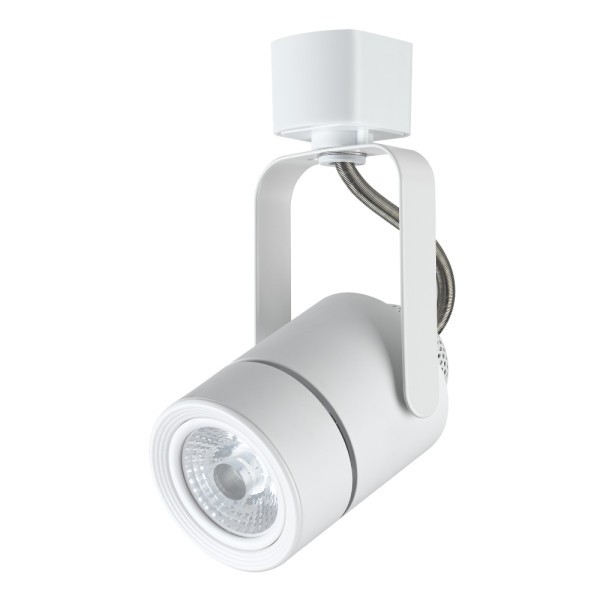 Universal track lights h style j style l style compatible maximus led track light white mini round fixture head h j l style compatible aloadofball Gallery
