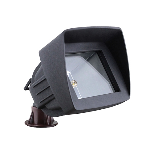 Black LED low voltage outdoor landscape lighting flood light LED-6011-BK