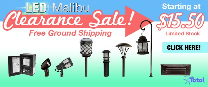 LED Malibu Clearance Sale!