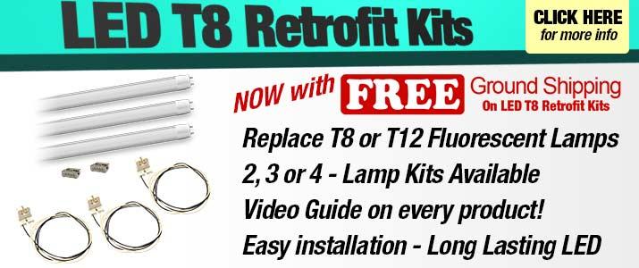 LED T8 Retrofit