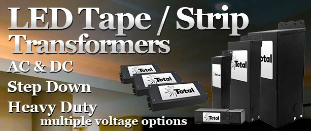 LED Tape / Stripe Light Transformers