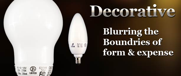 Buy Decorative Compact Fluorescent Light Bulbs