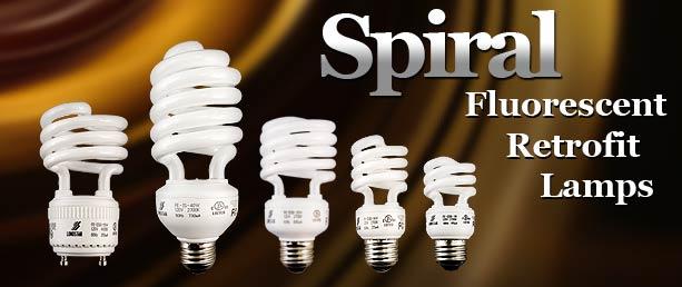 Buy Spiral Compact Fluorescent Light Bulbs
