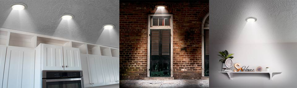Quality designer LED retrofit trims in 13 finishes, 2-styles and 5 Kelvin Colors
